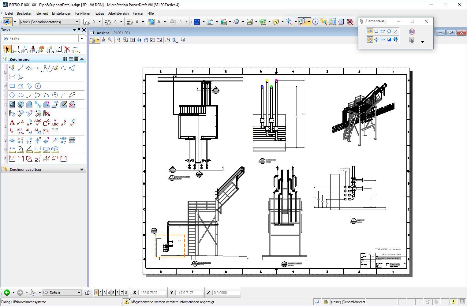 Bentley MicroStation PowerDraft - Zeichensoftware für Projekte